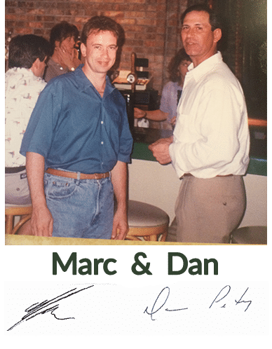 Marc and Dan